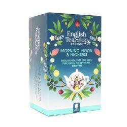 English Tea Shop Reggeli, Déli, és Esti Teaválogatás 5 Ízzel - 20 filter
