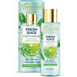 Bielenda Fresh Juice Detox hatású hydro esszencia - Lime