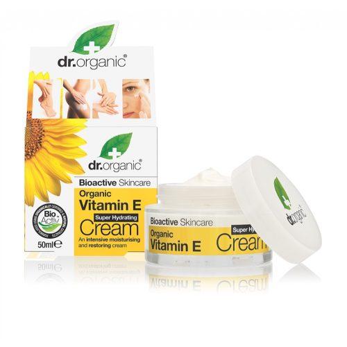 Dr. Organic Szuperhidratáló krém természetes E-vitaminnal 50ml