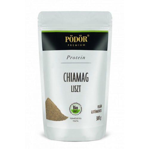 Pödör Chiamag-liszt, részlegesen olajtalanítot - Bio