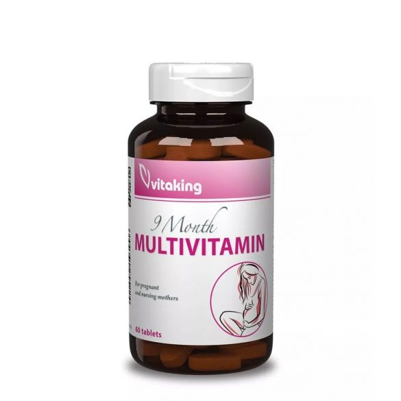 Vitaking 9 hónap multivitamin (60db)