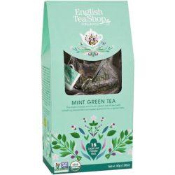 English Tea Shop Borsmenta tea Selyemfilterben