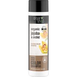 """Organic Shop """"Arany orchidea"""" színkiemelő sampon 280ml"""