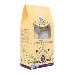 English Tea Shop Bio fehér tea - Kókusz és maracuja 15 selyempiramis filter