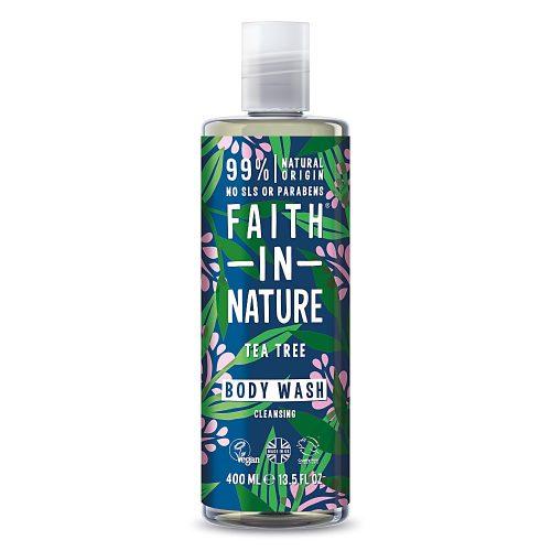 Faith in Nature Teafa tusfürdő 400ml