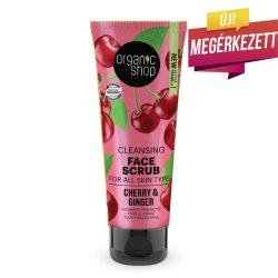 Organic Shop Gyömbéres cseresznye tisztító arcradír 75ml