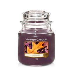 Yankee Candle Autumn Glow közepes üveggyertya
