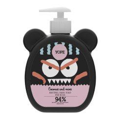 YOPE Kókusz és menta természetes kézmosó szappan gyermekeknek 400ml