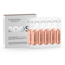 Mádara Hyaluronic Collagen Booster ampullák