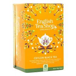 English Tea Shop Bio Fekete tea - Ceyloni tea 20 filter