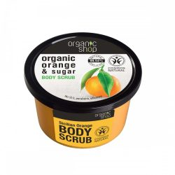 "Organic Shop ""Szicíliai narancs"" cukros testradír"