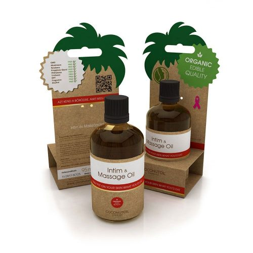 Coconutoil Cosmetics Intim masszázsolaj 95ml