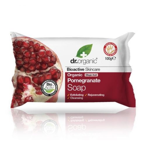 Dr. Organic Bio Gránátalma szappan