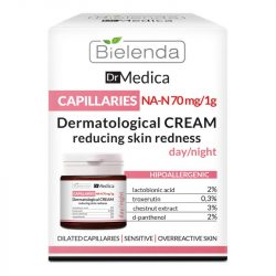 Bielenda Dr Medica Dermatológiai bőrpírt csökkentő krém
