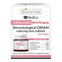 Bielenda Dr Medica Dermatológiai bőrpírt csökkentő arckrém
