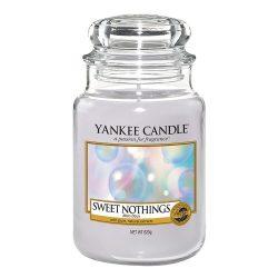 Yankee Candle Sweet Nothings nagy üveggyertya