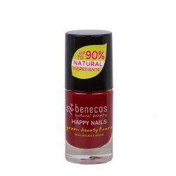 Benecos körömlakk Cherry red