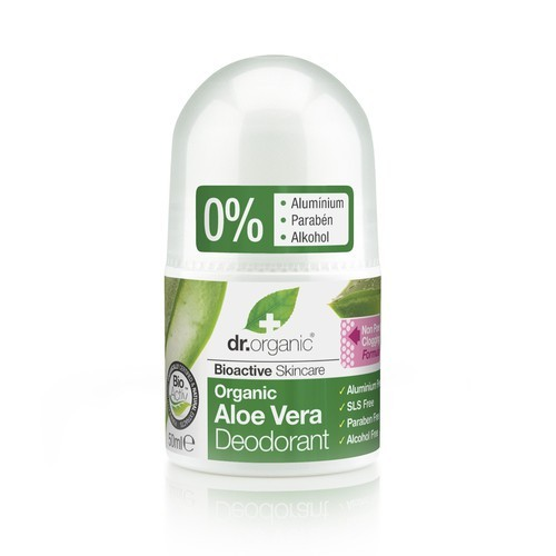 Dr. Organic Aloe Vera Alumíniummentes golyós dezodor 50ml