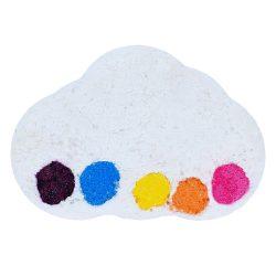 Bomb Cosmetics Szivárvány eső vízfestő fürdőbomba