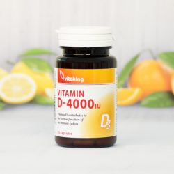 Vitaking D3-vitamin 4000NE