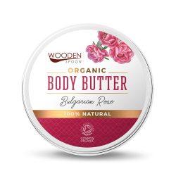 Wooden Spoon Bio testápoló vaj - Rózsás kényeztetés