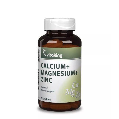 VitaKing Calcium + Magnézium + Cink 100db