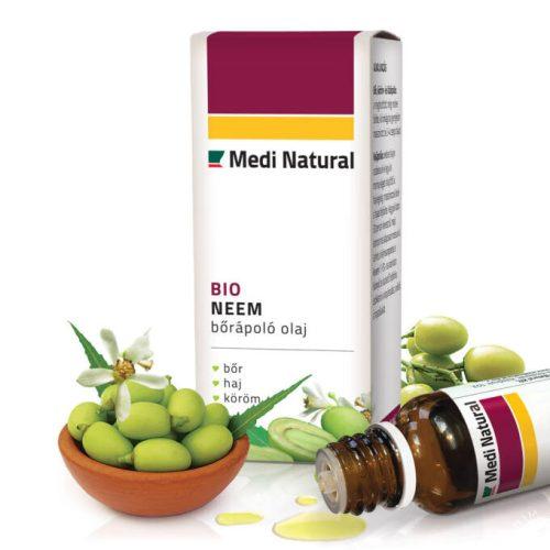 MediNatural Neem hidegen sajtolt bőrápoló olaj