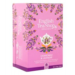 English Tea Shop Bio tea - Kamilla és Levendula 20 filter