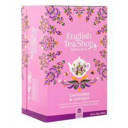 English Tea Shop Bio tea - Kamilla és Levendula 20 filter