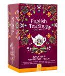 English Tea Shop Gyömbér Őszibarack Bio tea
