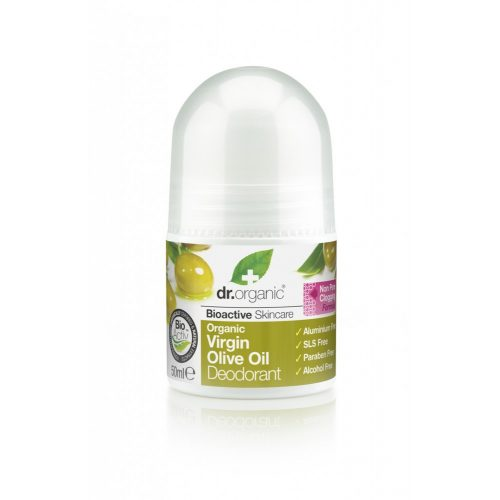 Dr. Organic Alumíniummentes golyós dezodor bio szűz olívaolajjal