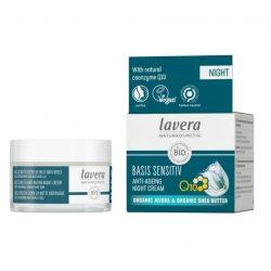 Lavera Basis Sensitive Q10 ránctalanitó éjszakai krém
