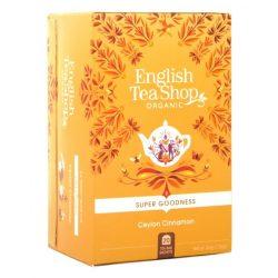 English Tea Shop Bio Fekete tea - Ceyloni fahéj tea 20 filter