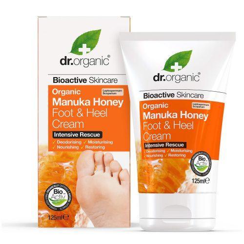 Dr. Organic Bio Manuka méz láb- és sarokápoló 125ml