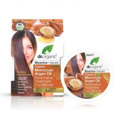 Dr. Organic Marokkói Argánolaj regeneráló hajápakolás