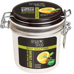 Organic Shop Frissítő kávé testformáló krém