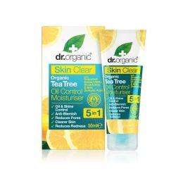 Dr. Organic Mattító Hidratáló arckrém 5 in 1