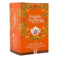 English Tea Shop Bio fekete chai tea 20 filter