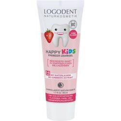 Logodent Happy Kids eper ízű fogkrém gyermekeknek