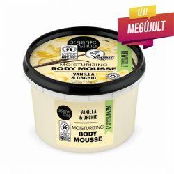 """Organic Shop """"Bourbon vanília"""" testápoló mousse"""