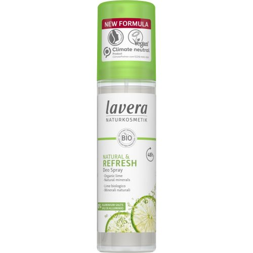Lavera Frissítő vasfű és lime  pumpás dezodor