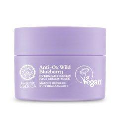 Natura Siberica Blueberry Siberica Vad Áfonya Megújító éjszakai arckrém 50ml