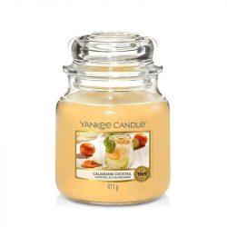 Yankee Candle Calamansi Cocktail közepes üveggyertya