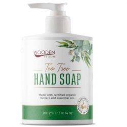 Wooden Spoon Bio folyékony szappan Teafa