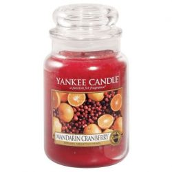 Yankee Candle Mandarin Cranberry nagy üveggyertya
