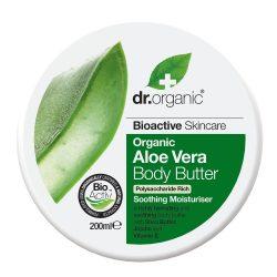 Dr. Organic Bio Aloe Vera testápoló vaj 200ml
