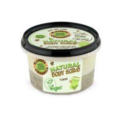 Planeta Organica Skin Super Good Természetes testradír matchával és chia maggal 250ml