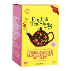 English Tea Shop Gránátalma Feketeribizlis Bio tea