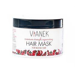 VIANEK Intenzíten regeneráló maszk szőke, festett és világosított hajra 150ml