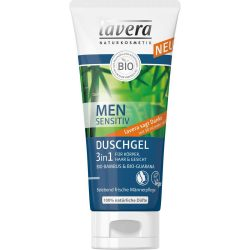 Lavera Men Sensitive 2in1 tusfürdő és sampon